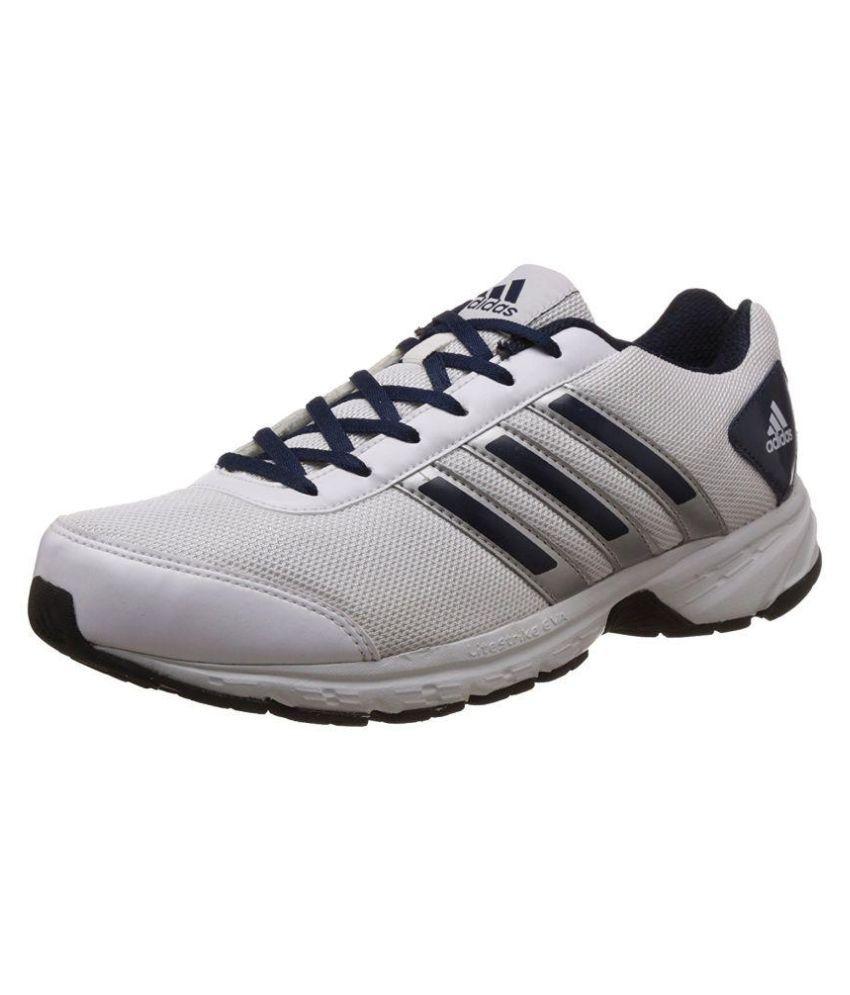 Adisonic Mesh Running Shoes - White