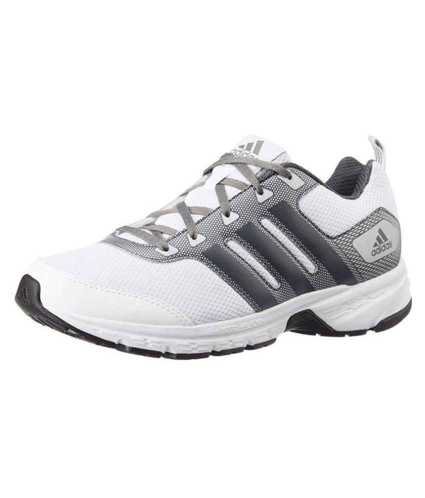 a5e55a78db5 Adidas Men s Alcor 1.0 M Running Shoes White - Buy Adidas Men s Alcor 1.0 M  Running Shoes White Online at Best Prices in India on Snapdeal