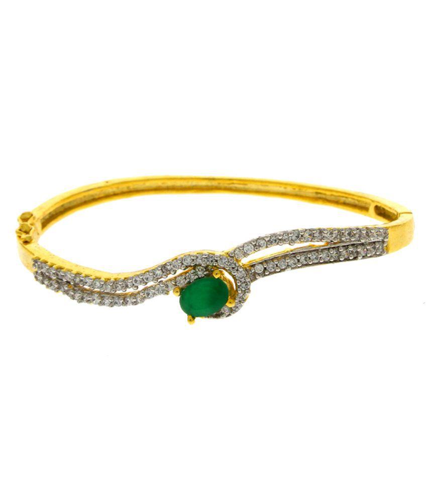 Anuradha Art American Diamonds Bracelet