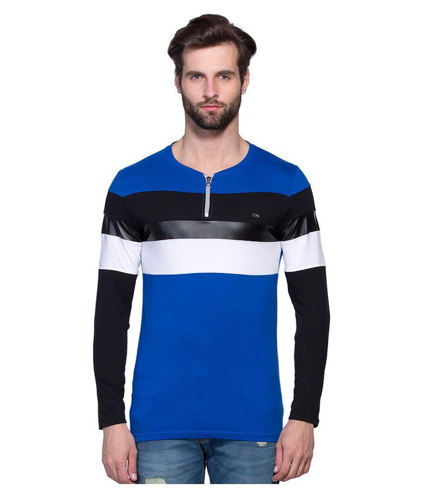 Maniac Blue Round T-Shirt