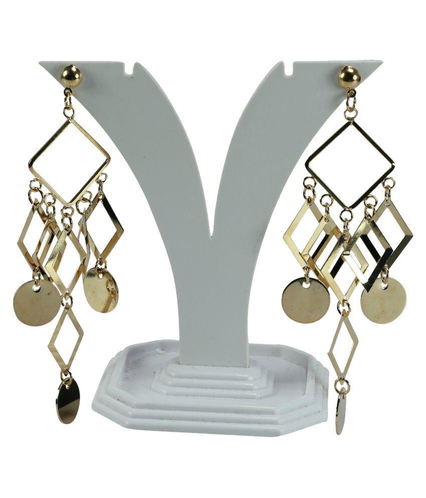 Oroca Arts Golden Hangings Earring