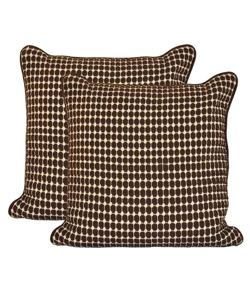 Elan Set of 2 Cotton Cushion Covers