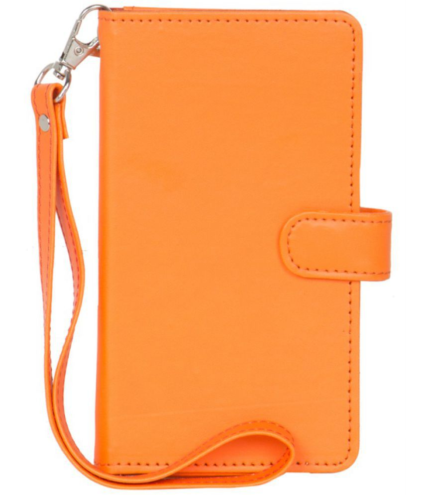 Micromax Bolt M065 Holster Cover by Senzoni - Orange