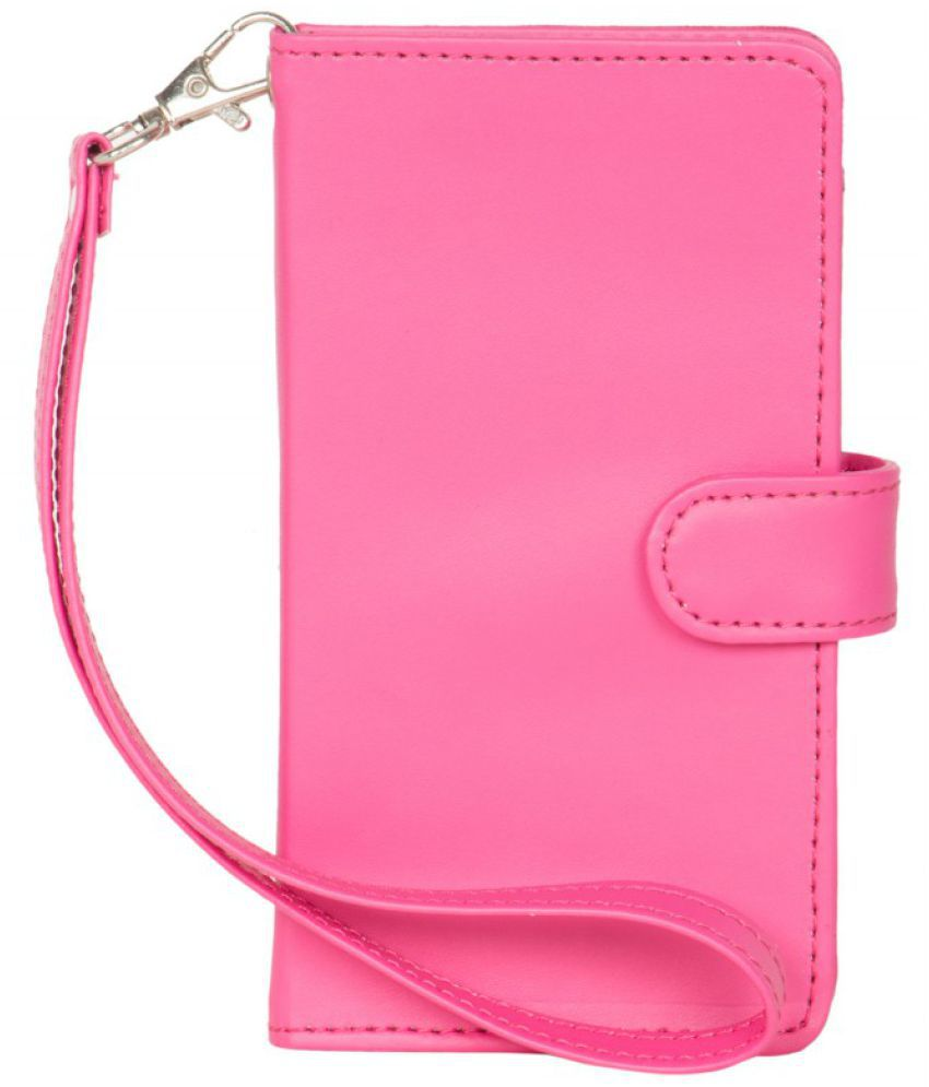 Videocon A48 Holster Cover by Senzoni - Pink