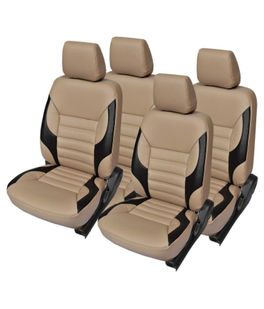 musicar car seat covers beige buy musicar car seat covers beige online at low price in. Black Bedroom Furniture Sets. Home Design Ideas