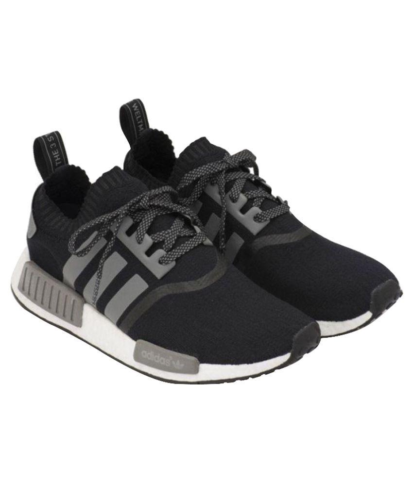 super popular 745b1 62e68 Adidas Originals NMD Runner Black Running Shoes - Buy Adidas Originals NMD  Runner Black Running Shoes Online at Best Prices in India on Snapdeal