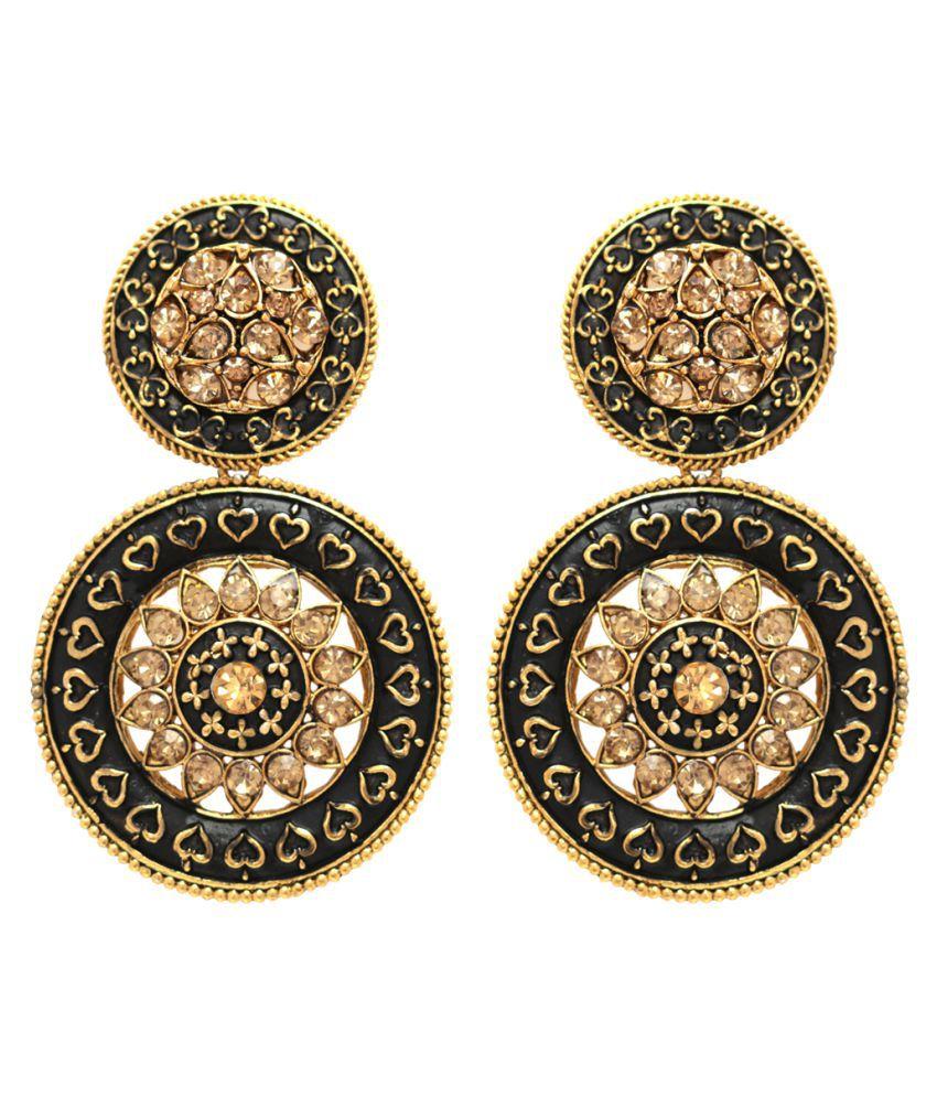 Alysa Multi Color Hangings Earrings Single Pair
