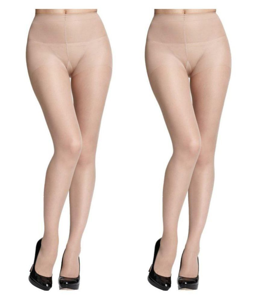 Innocent Care Beige Stockings - Pack of 2