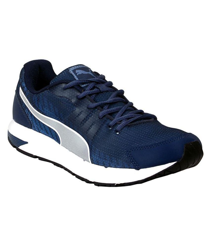 Puma Sequence V2 DP Blue Running Shoes