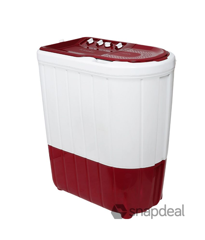 Whirpool 6.2 Kg Superb Atom 62s Semi Automatic Top Load Washing Machine Ruby