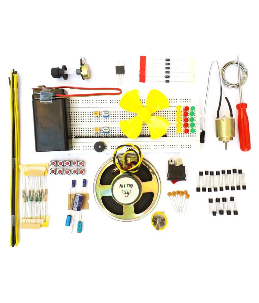 Breadboard Circuit Diagram | Global Traders Breadboard And Basic Electronics Components With