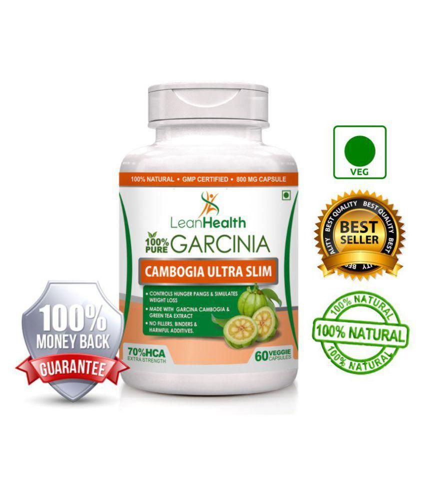 Leanhealth Pure Garcinia Cambogia 70 Hca 60 Capsules 800 Mg Buy Ultra At Best Prices In India