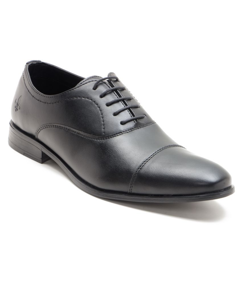 4fa43c4482dd3 Bond Street By Red Tape Black Oxfords Formal Shoes Price in India- Buy Bond  Street By Red Tape Black Oxfords Formal Shoes Online at Snapdeal