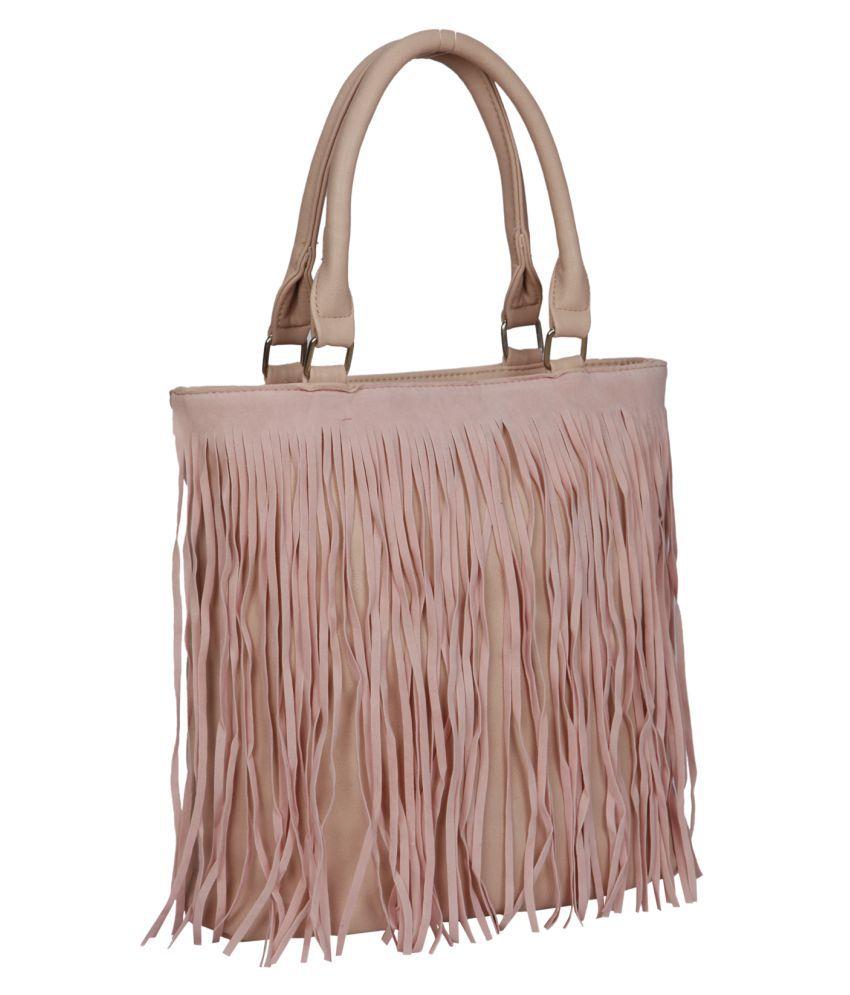Bagkok Pink P.U. Shoulder Bag