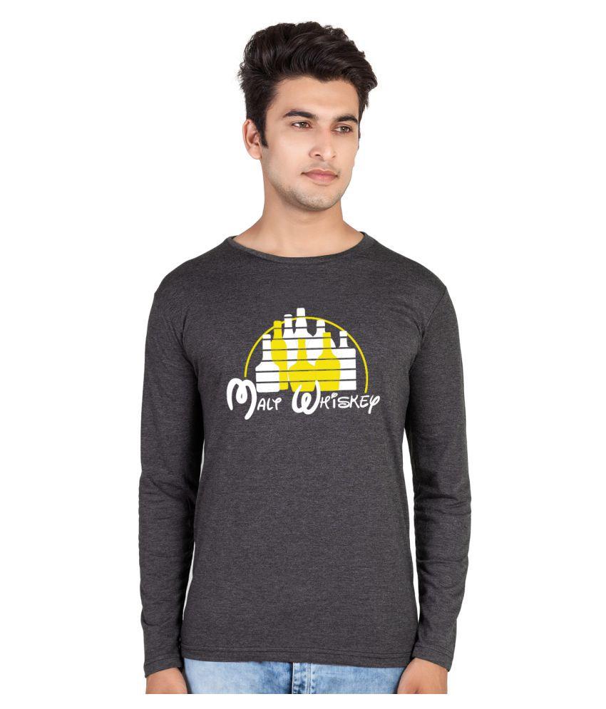 HooBoo Grey Round T-Shirt