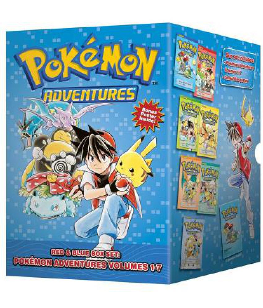 Pokemon Adventures Red amp; Blue Box Set: Volumes 17: Buy