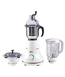 Kenstar KMD60W3P-DBF 600 W 3 Jar Mixer Grinder