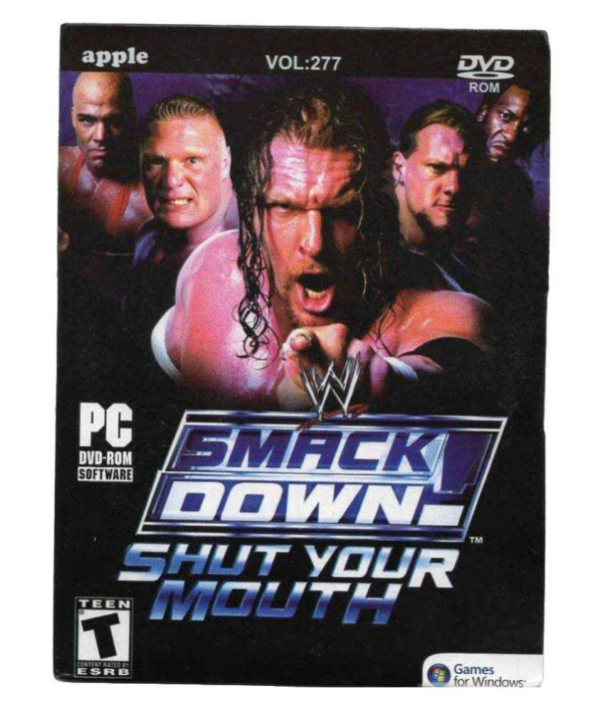 Buy Smack Down Shut Your Mouth Pc PC Game line at Best Price