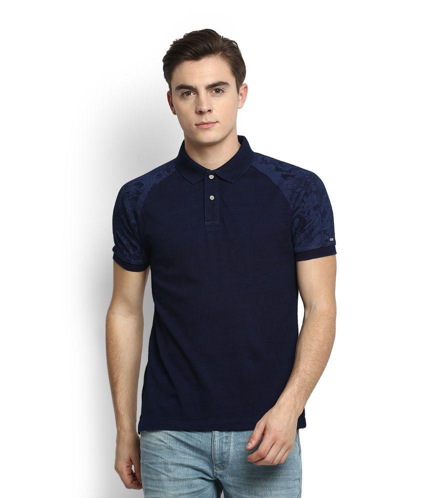 Arrow Sports Blue Polo T-Shirt