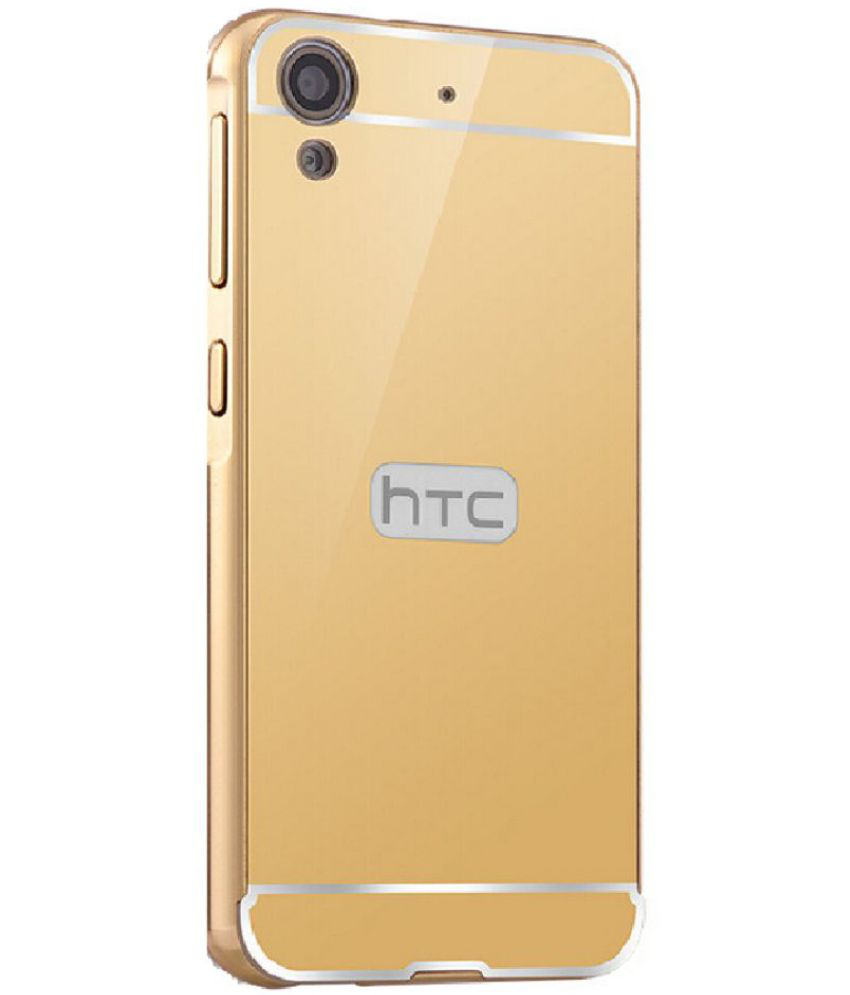 HTC Desire 626 Mirror Back Covers BLJ - Golden