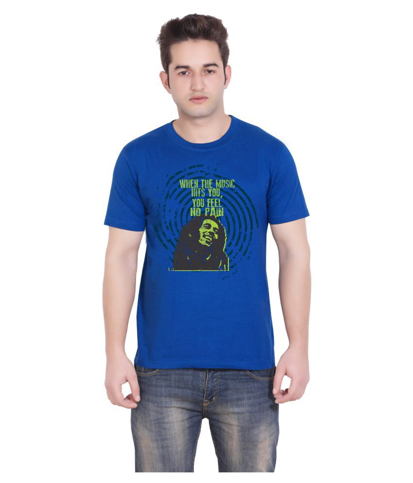 Tantra Blue Round T-Shirt