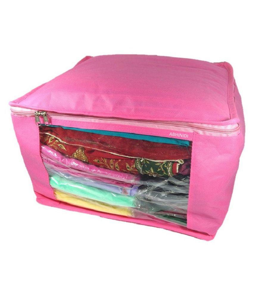Abhinidi Pink Saree Covers - 1 Pc