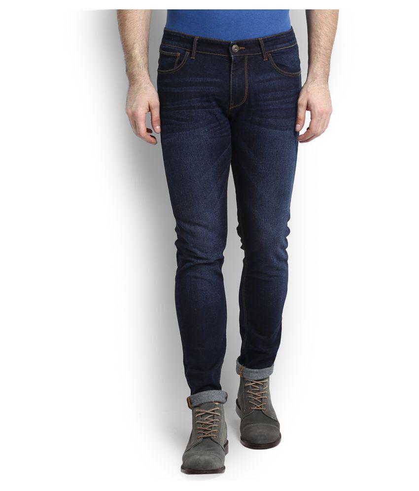 Celio Blue Skinny Jeans