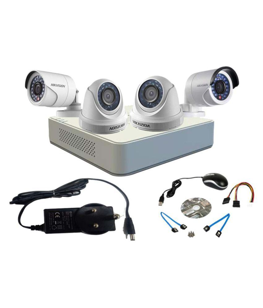 7a82336f197 Hikvision 4ch Turbo Hd Dvr With 2 Bullet   2 Dome Cameras Surveillance Kit  Price in India - Buy Hikvision 4ch Turbo Hd Dvr With 2 Bullet   2 Dome  Cameras ...