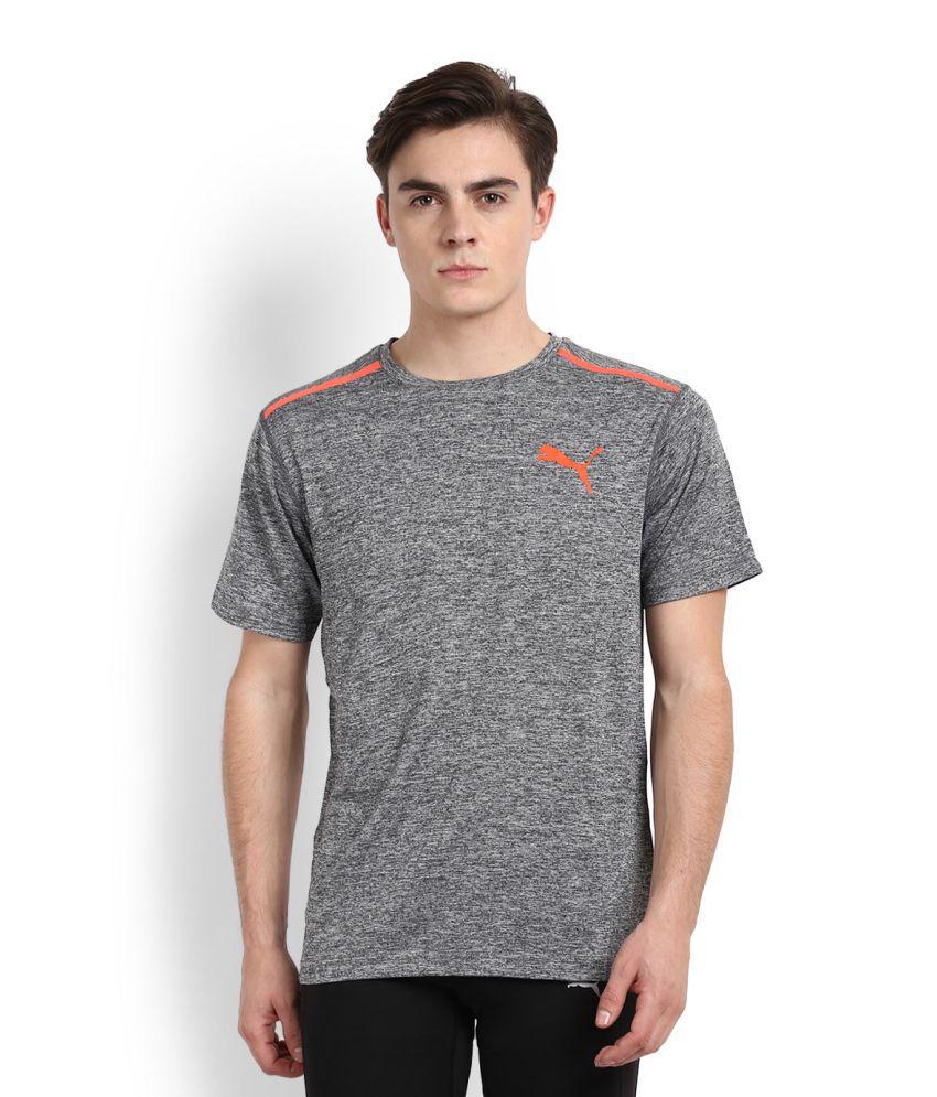 Puma Grey Round T-Shirt