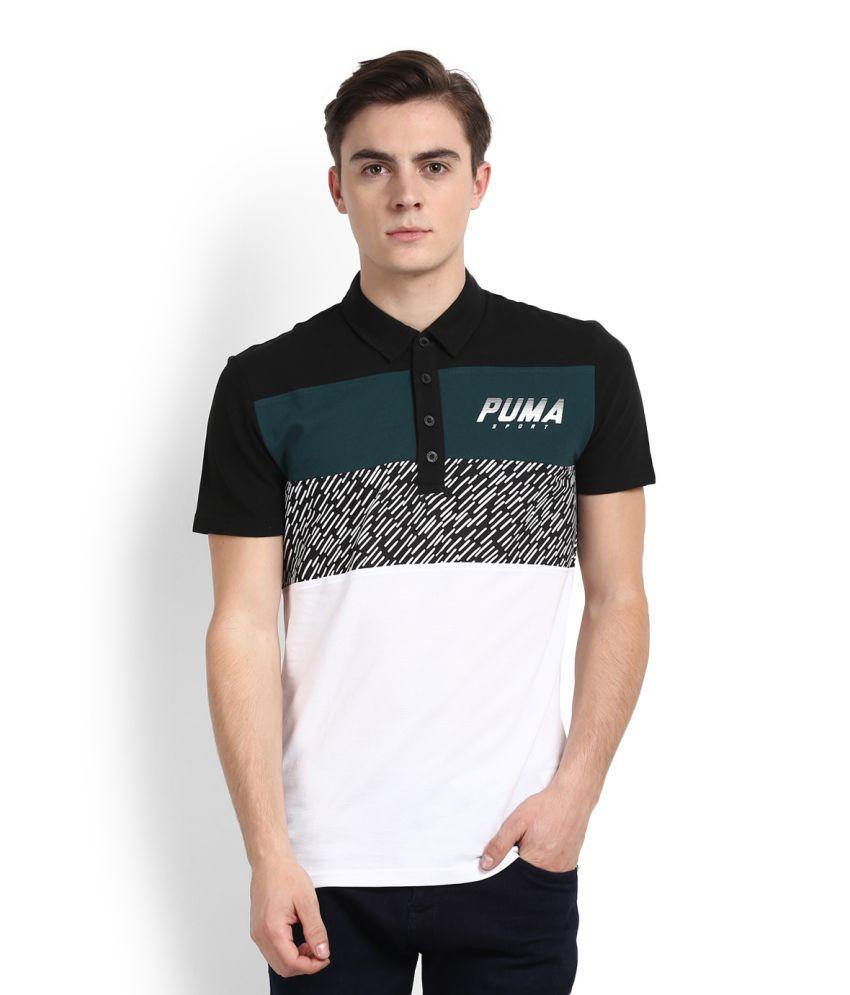 Puma Multi High Neck T-Shirt