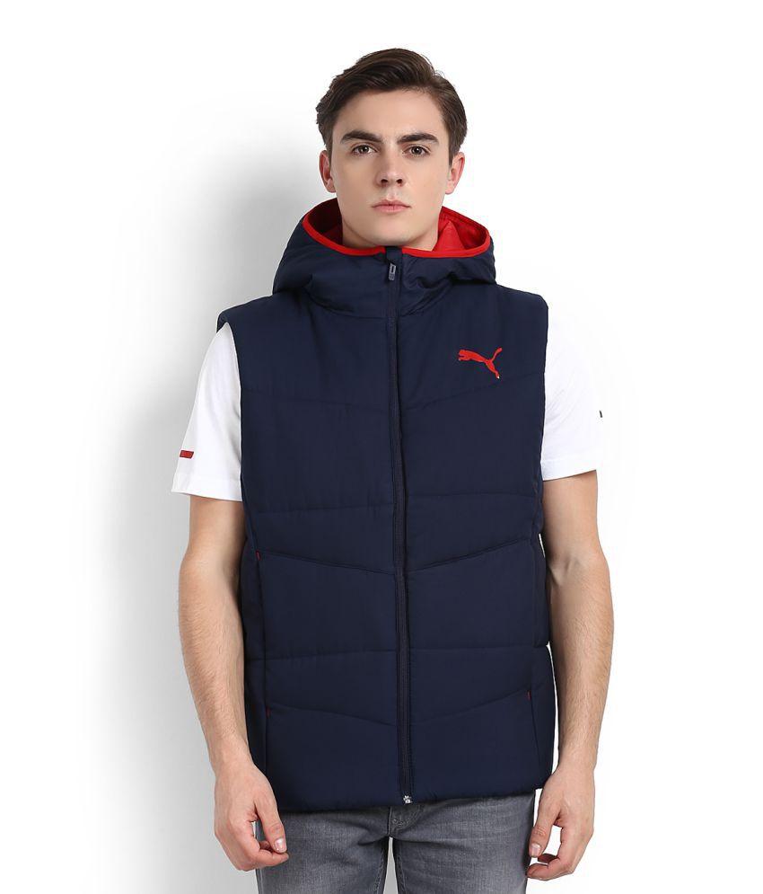 Puma Blue Hooded Jacket