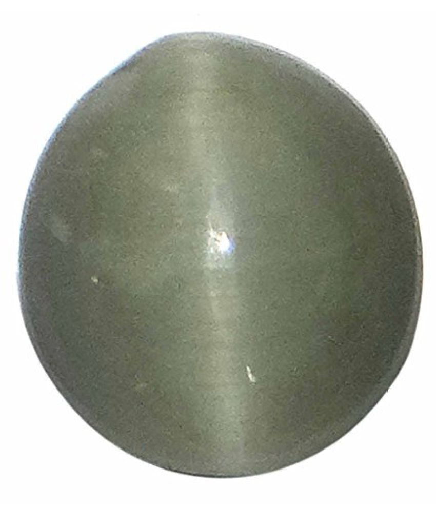 8.44 ct. / 9.38 Ratti NATURAL & GJSPC CERTIFIED CATs EYE QUARTZ (LEHSUNIYA) ASTROLOGICAL GEMSTONE BY ARIHANT GEMS & JEWELS