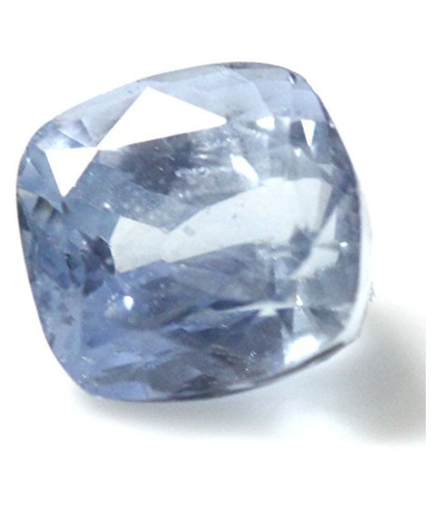 LOOSE 100% NATURAL & CERTIFIED 7.37 ct. BLUE SAPPHIRE BIRTHSTONE BY ARIHANT GEMS & JEWELS