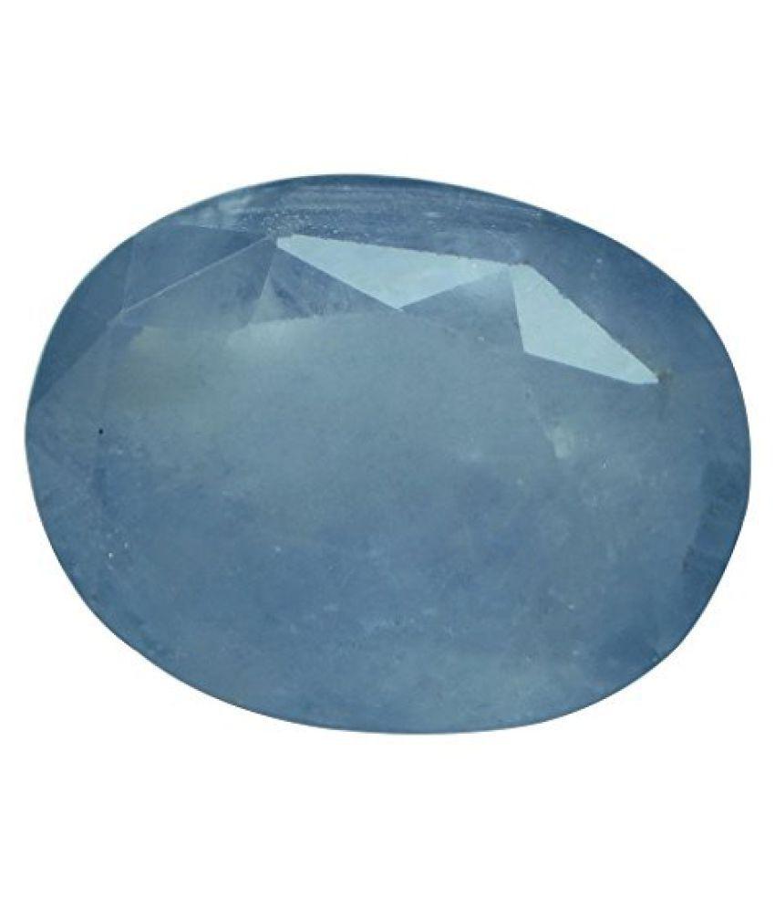 NEELAM 5.75 ct. / 6.39 Ratti Natural & IIGS Certified BLUE SAPPHIRE (NEELAM) BIRTHSTONE BY ARIHANT GEMS AND JEWELS