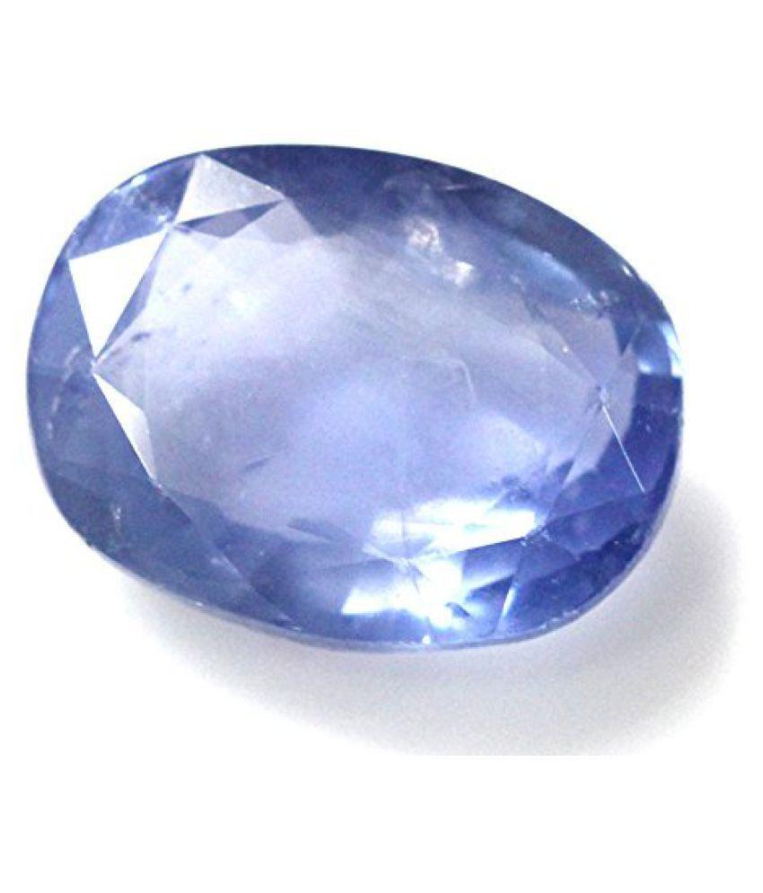 NEELAM 8.4 ct. / 9.33 Ratti BLUE SAPPHIRE (NEELAM) Certified GEMSTONE BY ARIHANT GEMS AND JEWELS