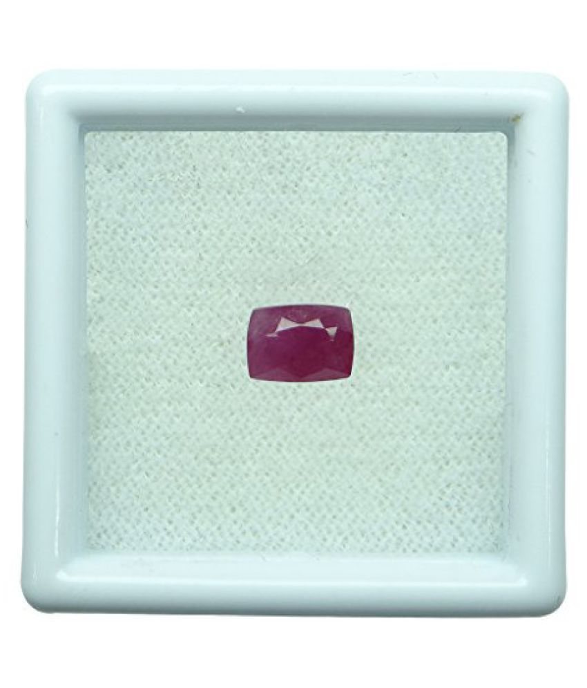 Arihants 1.16 ct. / 1.29 Ratti BURMESE NATURAL & IIGS CERTIFIED RUBY (MANIK) ASTROLOGICAL GEMSTONE