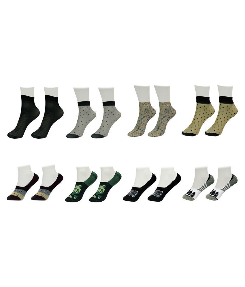 Gold Dust Multicolor Socks (8 Pair)