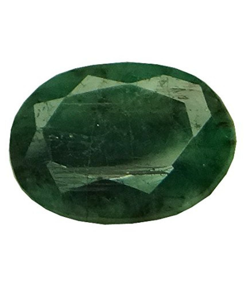 EMERALD PANNA 4.01 ct. / 4.46 Ratti PURE & IIGS CERTIFIED EMERALD (PANNA) ASTROLOGICAL GEMSTONE BY ARIHANT GEMS & JEWELS