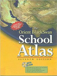 Orient Black Swan School Atlas 7/E (Pb) Paperback (English)
