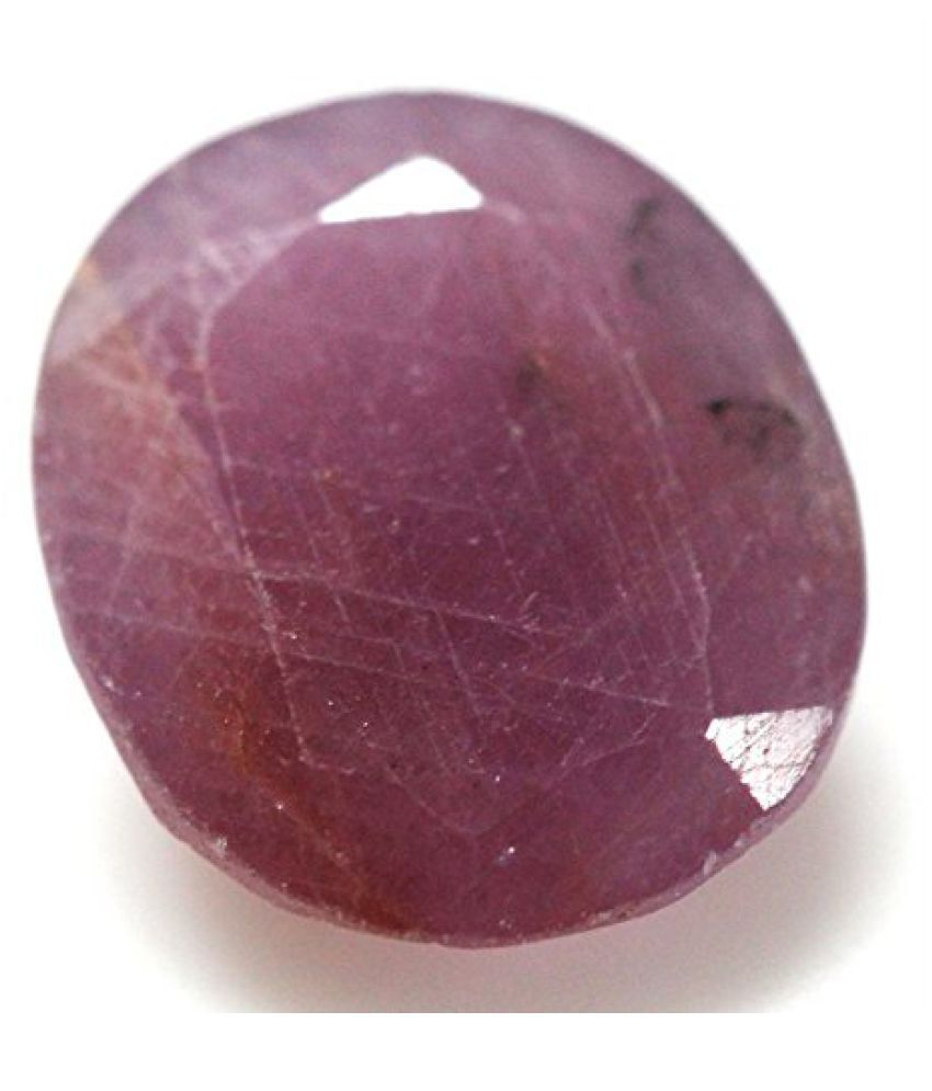 LOOSE 100% NATURAL & CERTIFIED 4.08 ct. RUBY BIRTHSTONE BY ARIHANT GEMS & JEWELS
