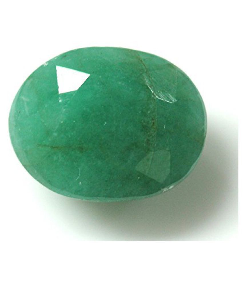 LOOSE 100% NATURAL & CERTIFIED 7.70 ct. EMERALD BIRTHSTONE BY ARIHANT GEMS & JEWELS