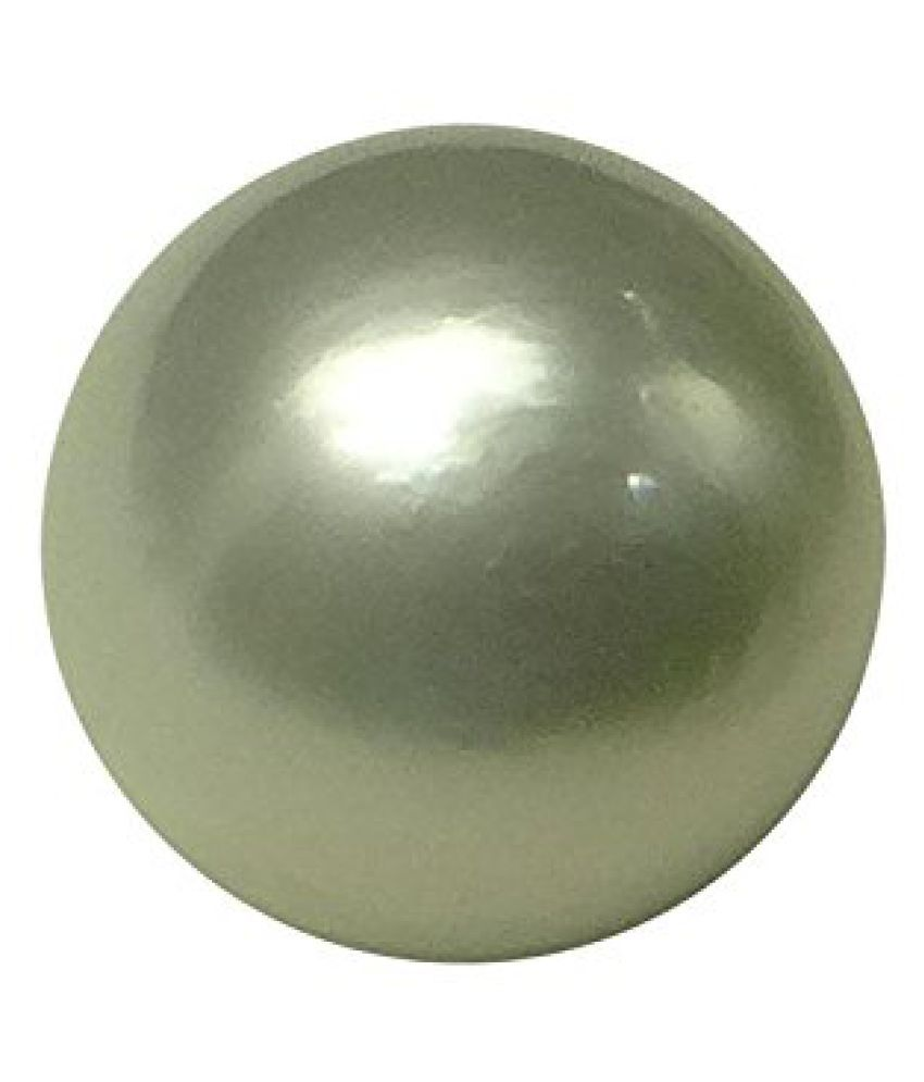 PEARL 11.49 ct. / 12.77 Ratti Natural & IIGS Certified SOUTH SEA PEARL (MOTI) BIRTHSTONE BY ARIHANT GEMS AND JEWELS