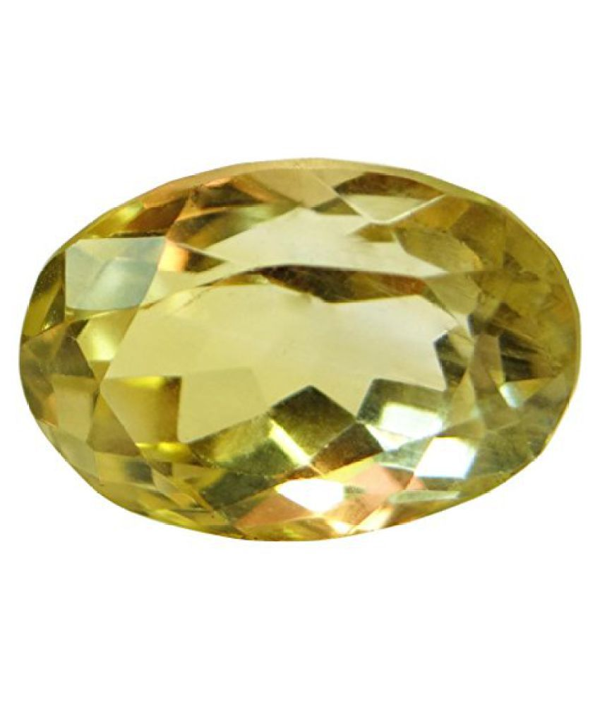 5.27 ct. / 5.85 Ratti Natural & Certified CITRINE (SUNHELLA) BIRTHSTONE BY ARIHANT GEMS & JEWELS