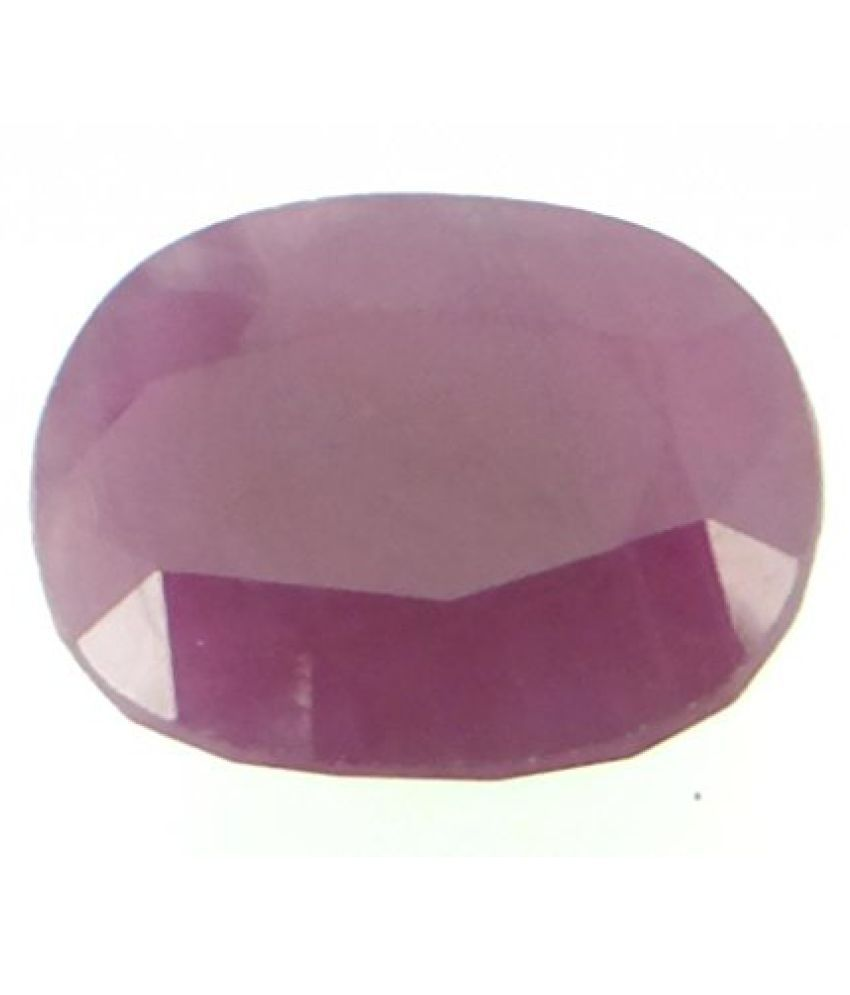 LOOSE 100% NATURAL & CERTIFIED 11.19 ct. RUBY BIRTHSTONE BY ARIHANT GEMS & JEWELS
