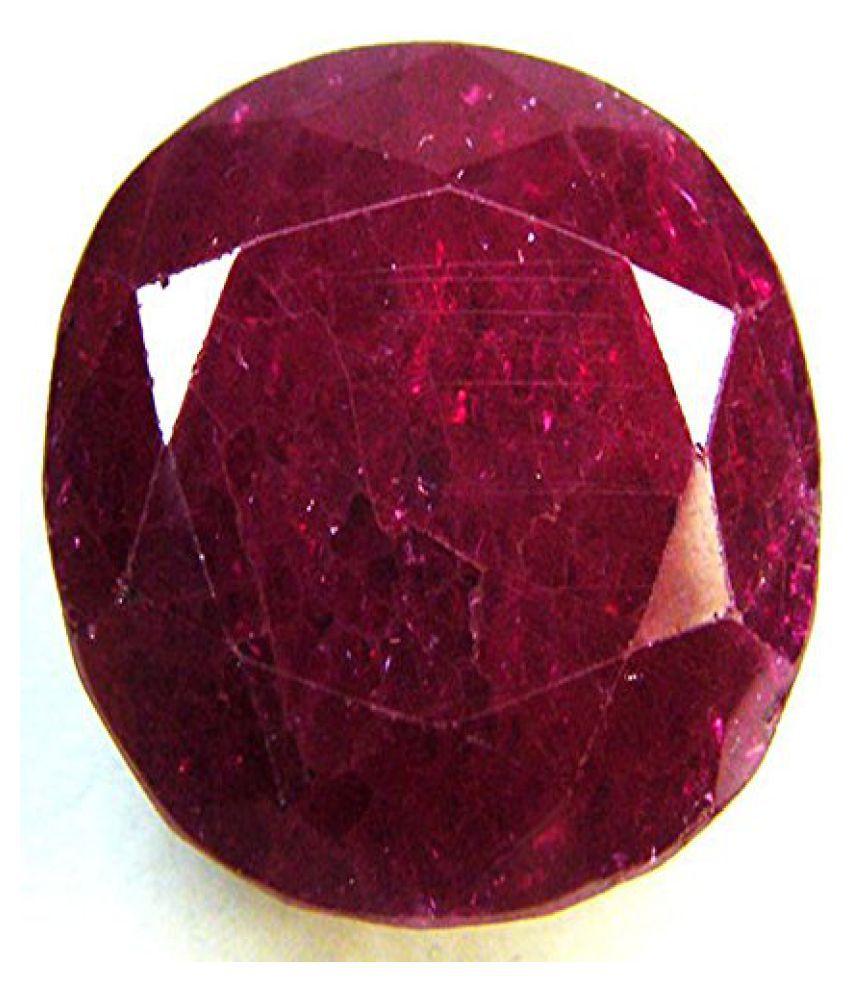 5.25 Ratti Certified Burma Ruby Gemstone