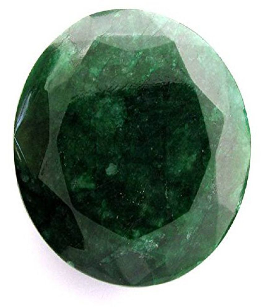 7.25 Ratti Original Certified Panna Emerald Stone