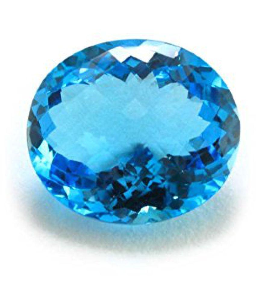 8.25 Ratti Certified Blue Topaz Natural Gemstone