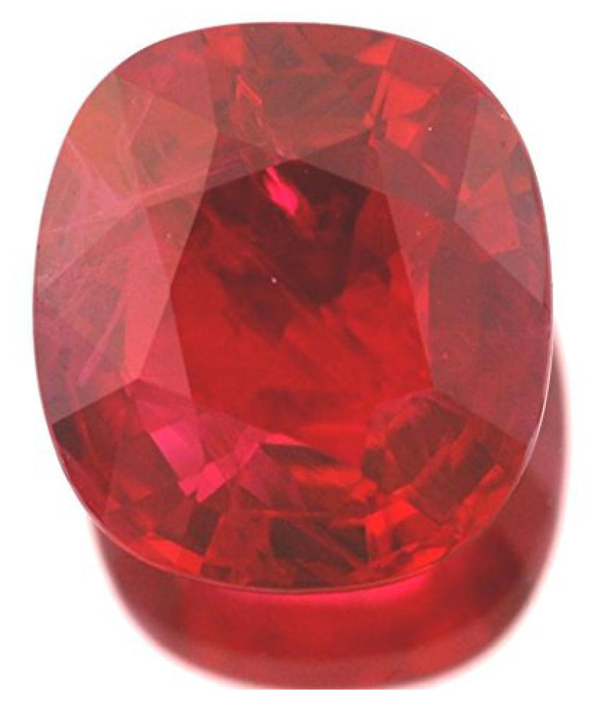8.25 Ratti Certified Ruby Gemstone Gives High Status