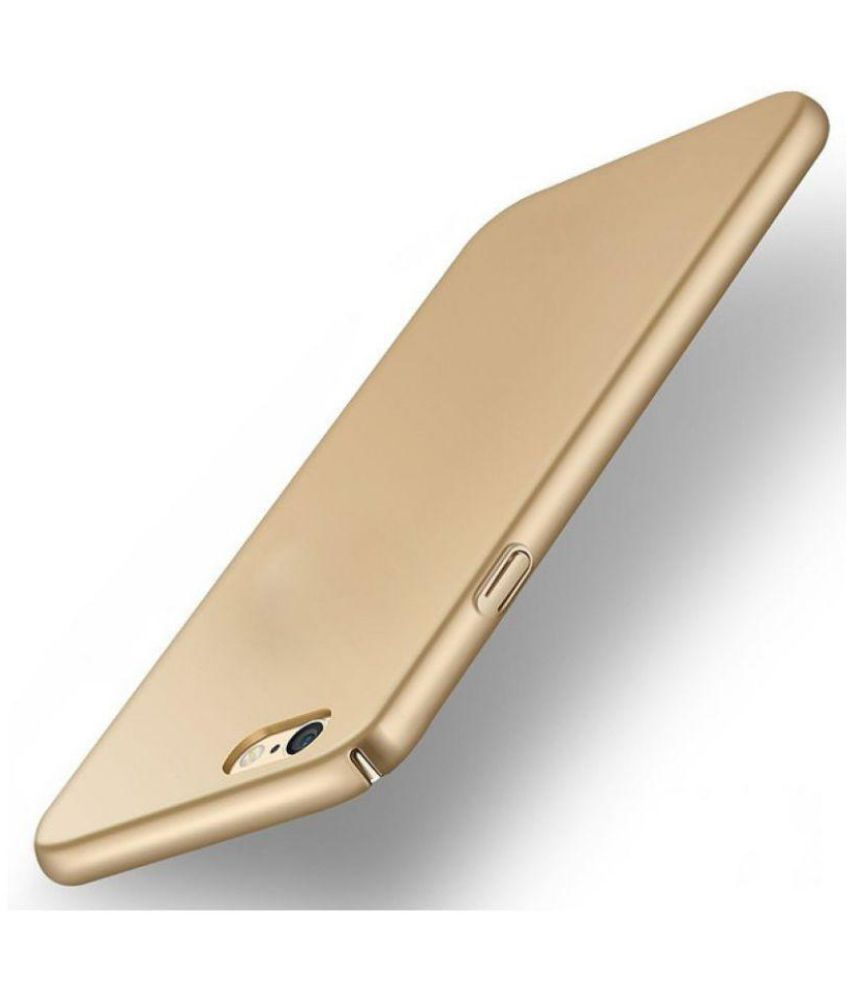 Oppo F1s Plain Cases Goldenize - Golden