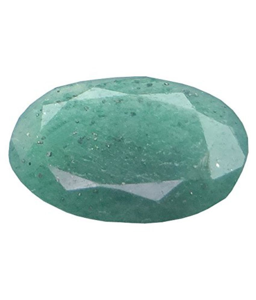 3.36 ct. / 3.73 Ratti PURE & IIGS CERTIFIED EMERALD (PANNA) ASTROLOGICAL GEMS...